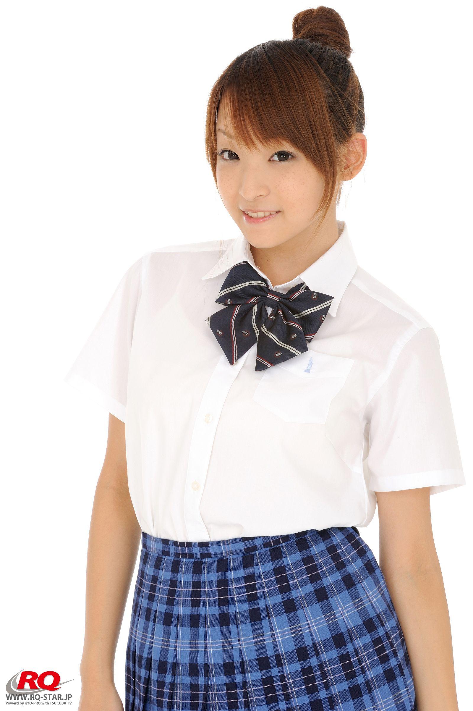 [RQ STAR美女] NO.01152 Mio Aoki 青木未央 Student Style[50P] RQ STAR 第1张