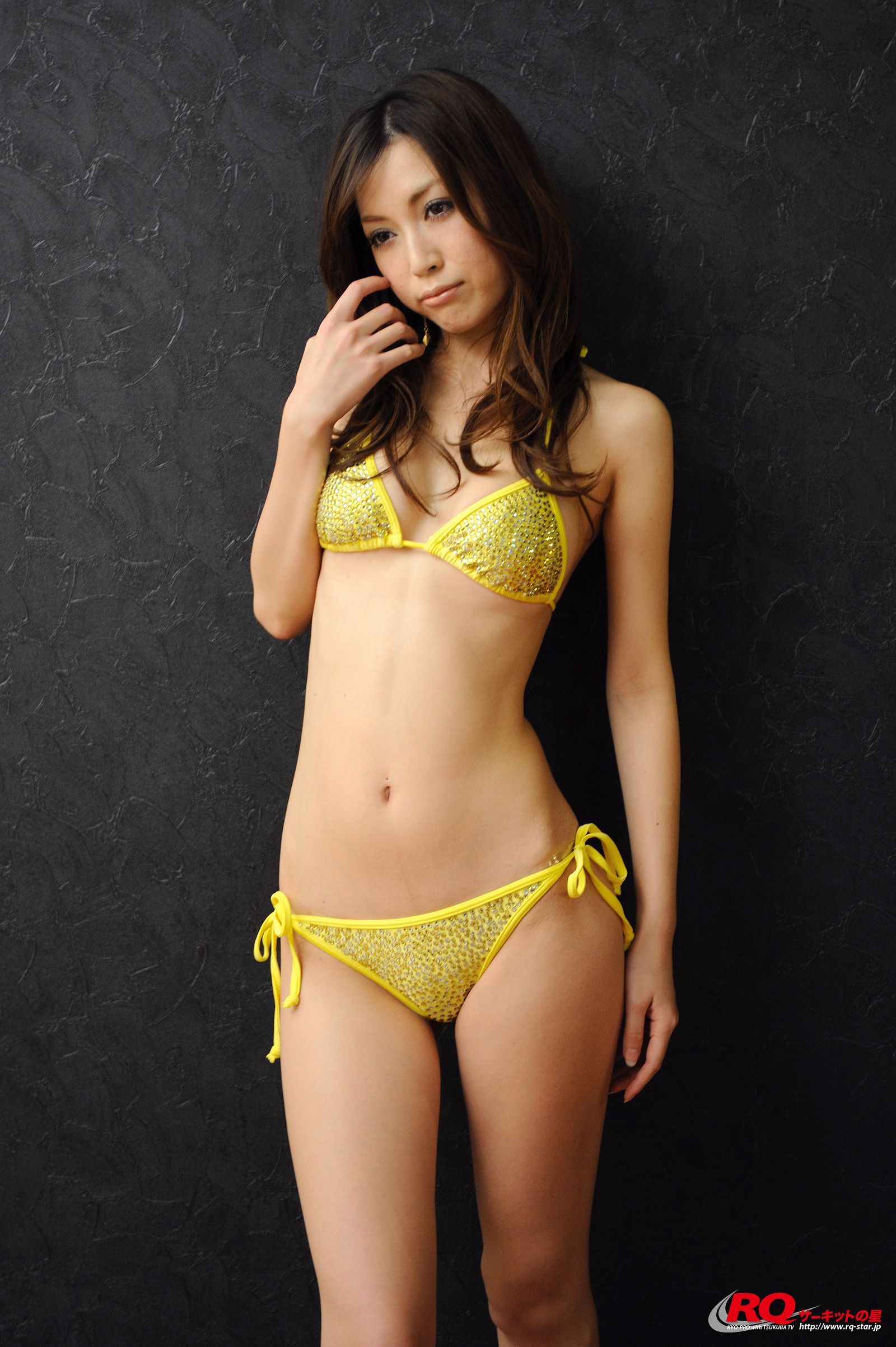 [RQ STAR美女] NO.0119 Mayu Ohya 大矢真夕 Swim Suits – Yellow[58P] RQ STAR 第1张