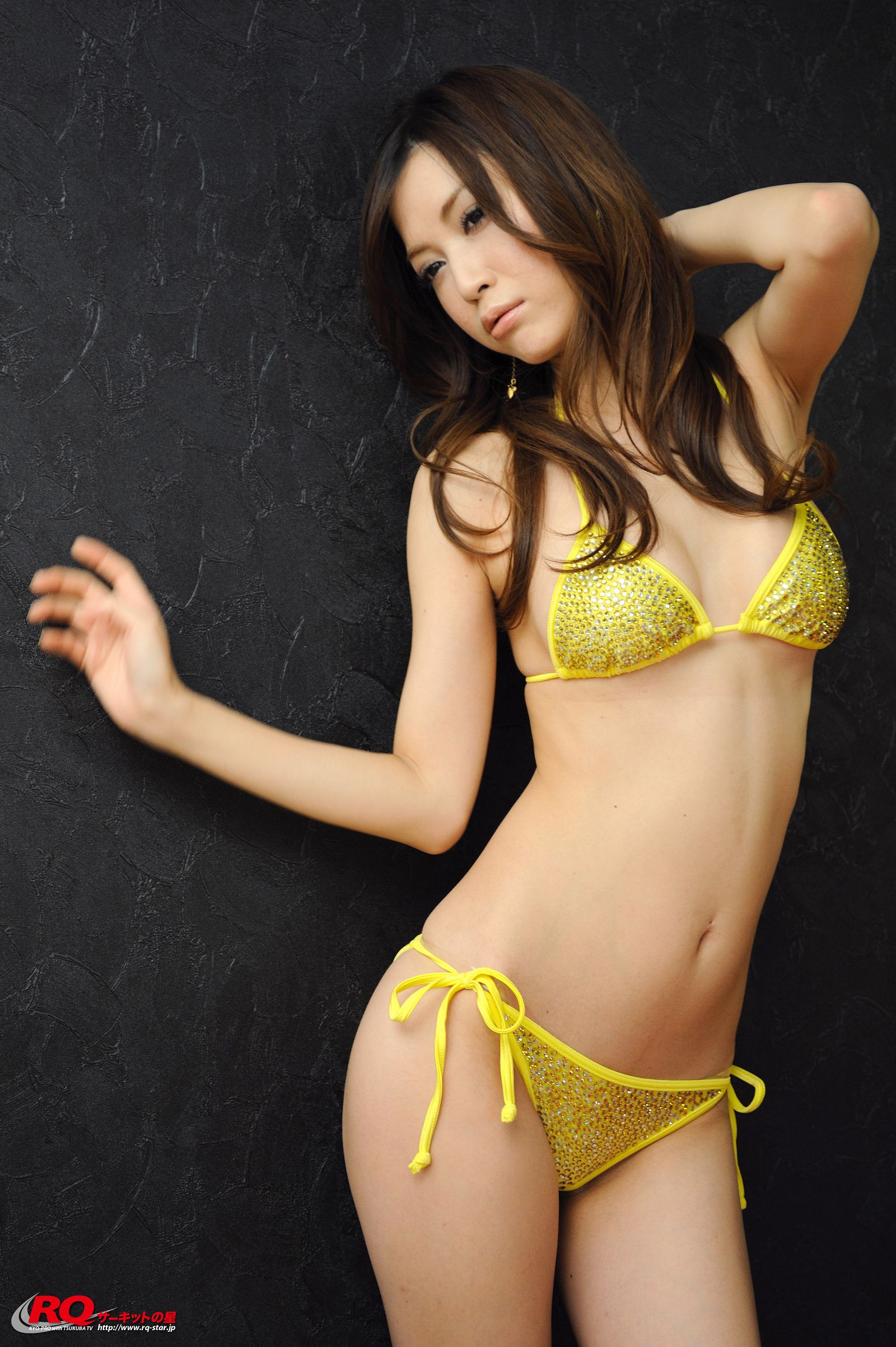[RQ STAR美女] NO.0119 Mayu Ohya 大矢真夕 Swim Suits – Yellow[58P] RQ STAR 第3张