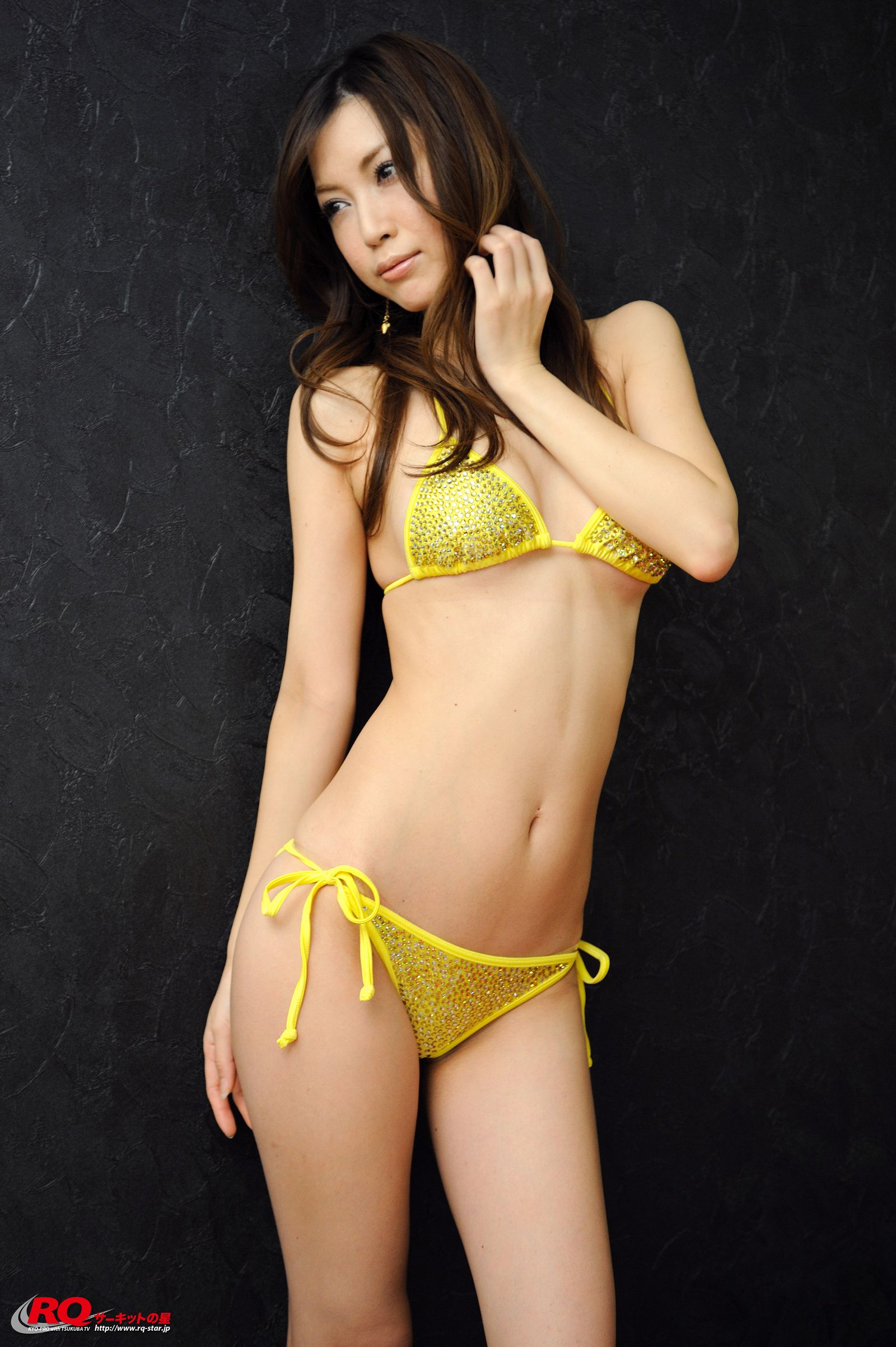 [RQ STAR美女] NO.0119 Mayu Ohya 大矢真夕 Swim Suits – Yellow[58P] RQ STAR 第4张