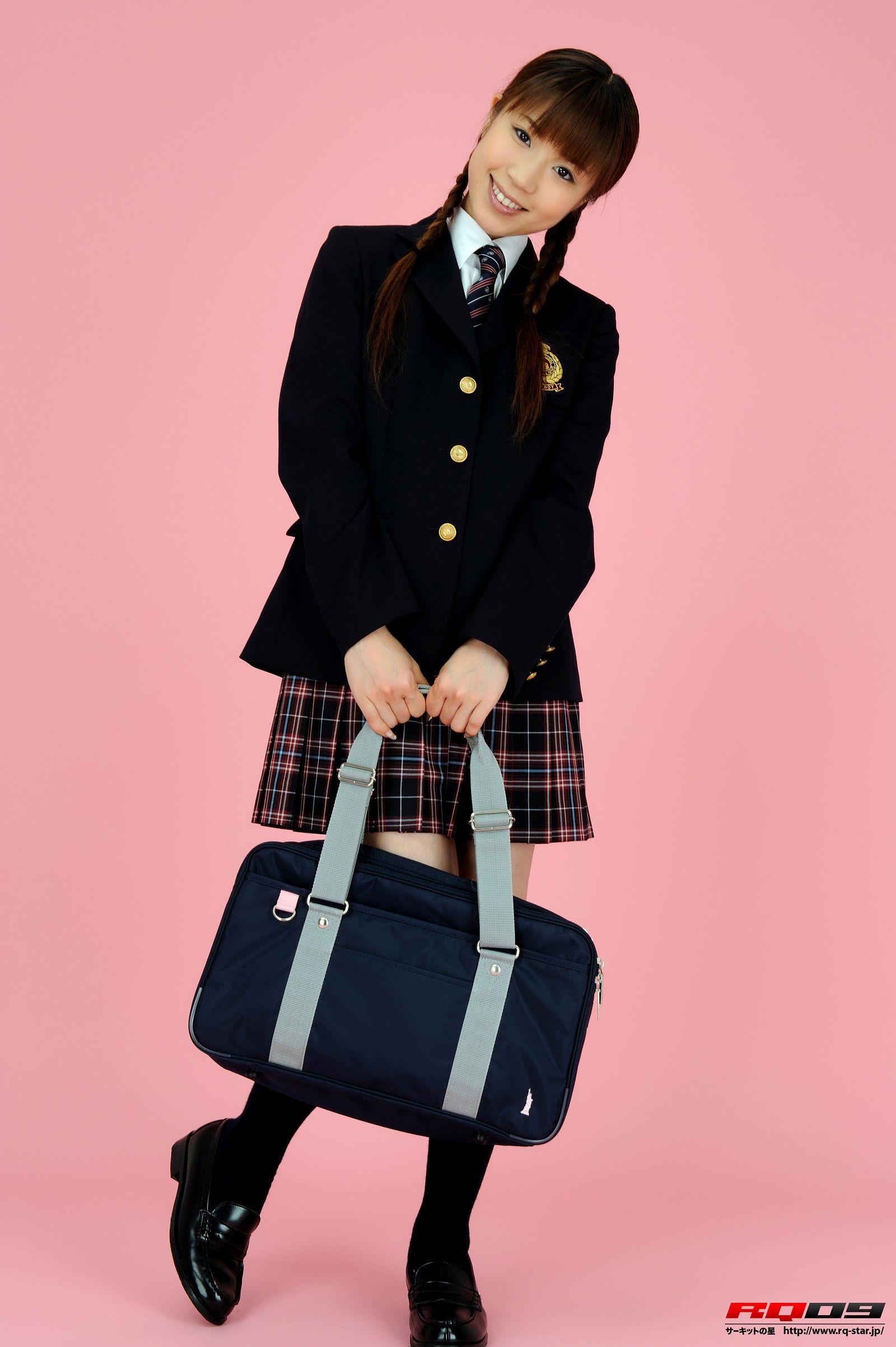 [RQ-STAR美女] NO.0163 Yuko Momokawa 桃川祐子 Student Style0