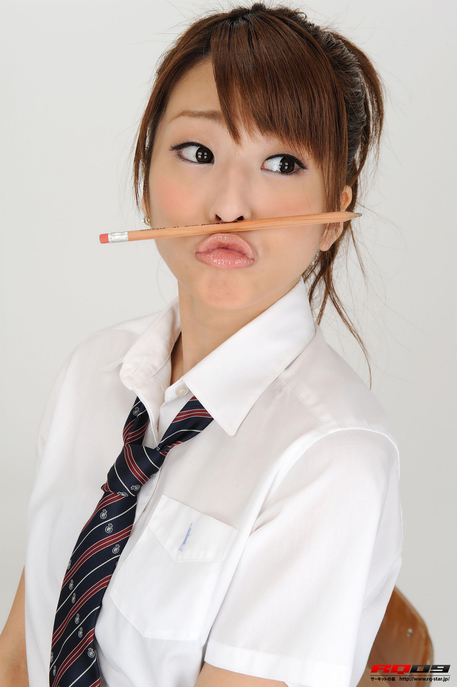 [RQ STAR美女] NO.0184 Mirei Kurosawa 鼪g美怜 Student Style[100P] RQ STAR 第2张