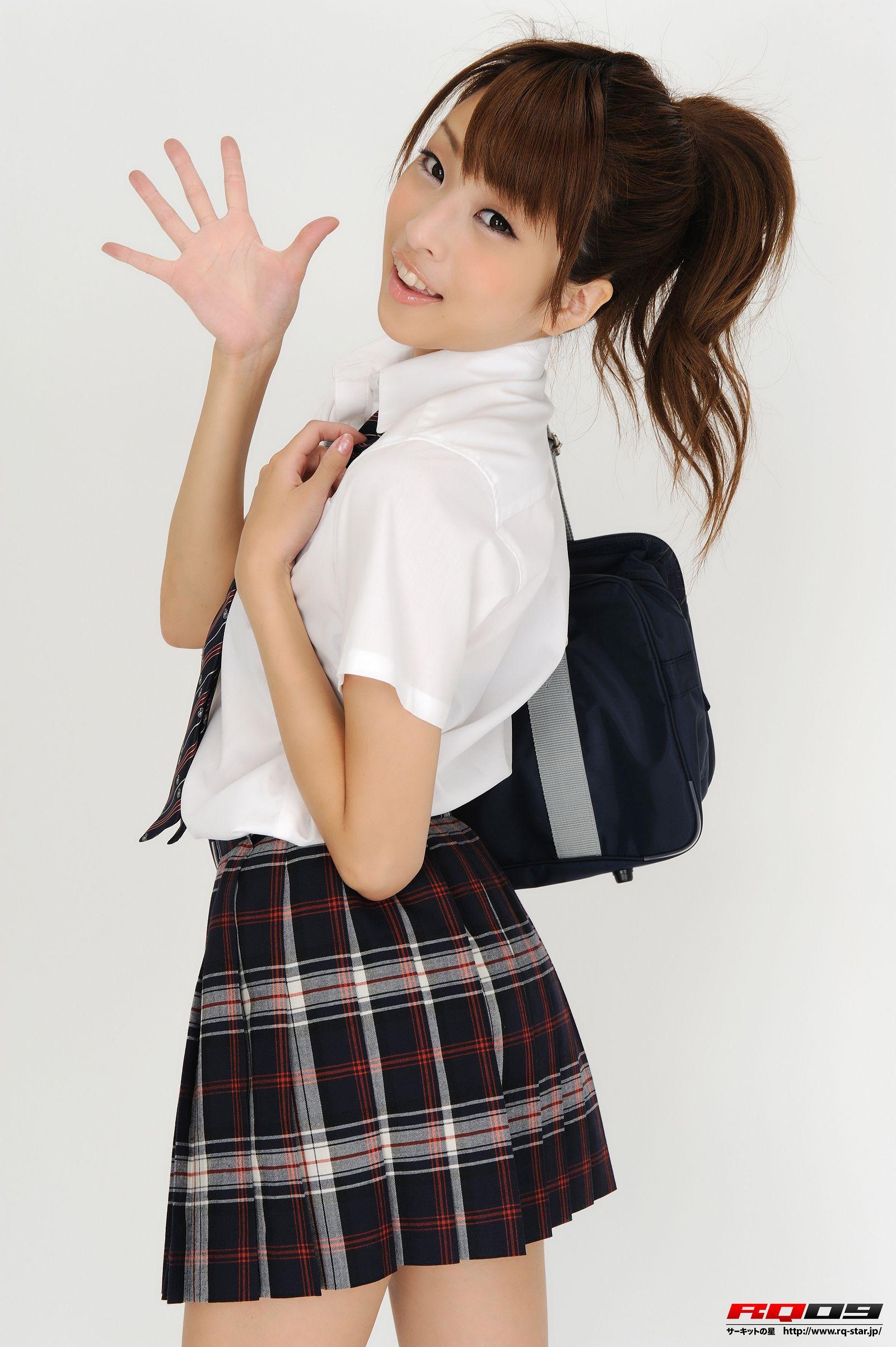 [RQ STAR美女] NO.0184 Mirei Kurosawa 鼪g美怜 Student Style[100P] RQ STAR 第3张