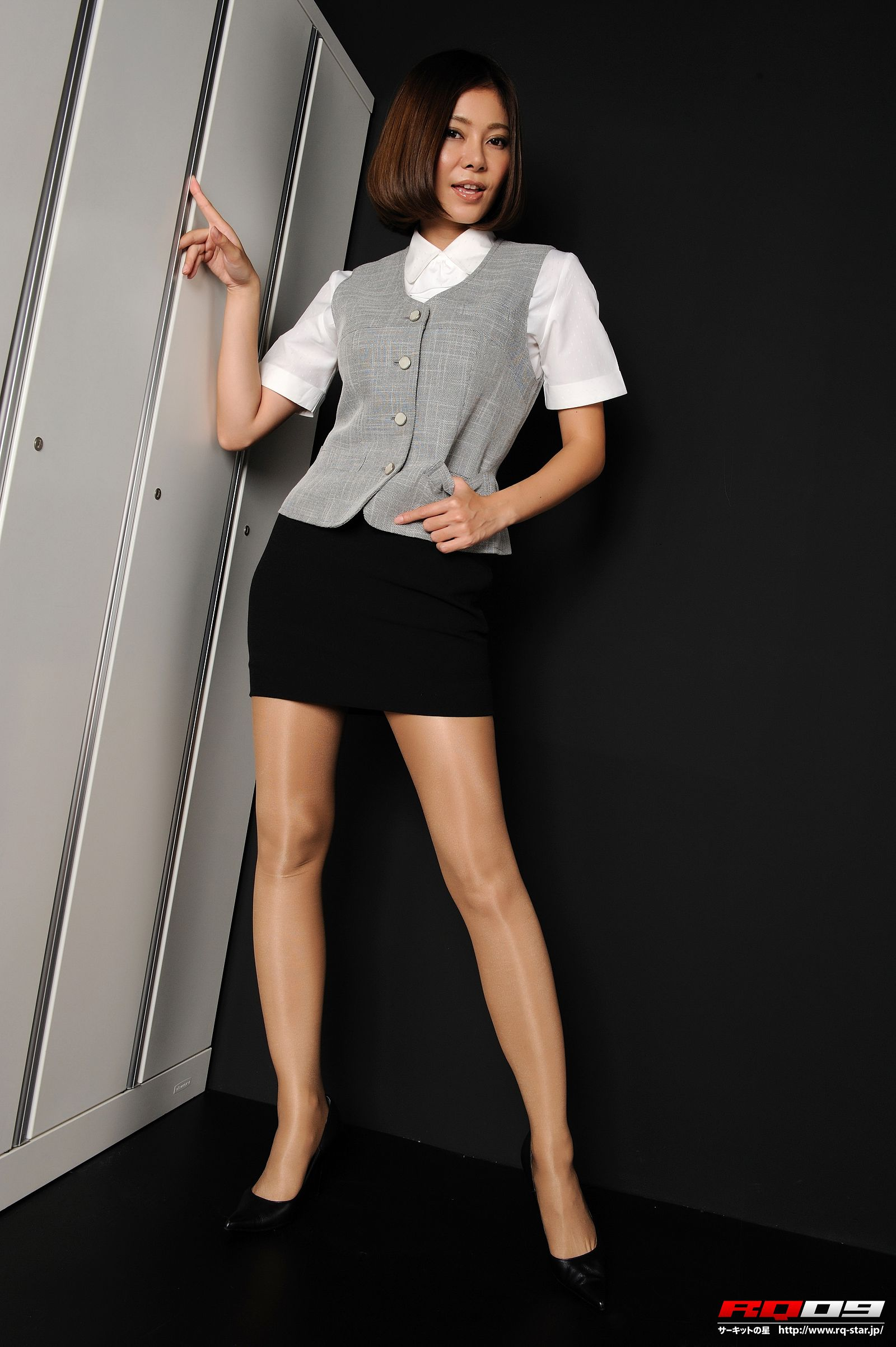 [RQ STAR美女] NO.0223 Erika Mostardini モスタルディーニエリカ Office Lady[110P] RQ STAR 第1张