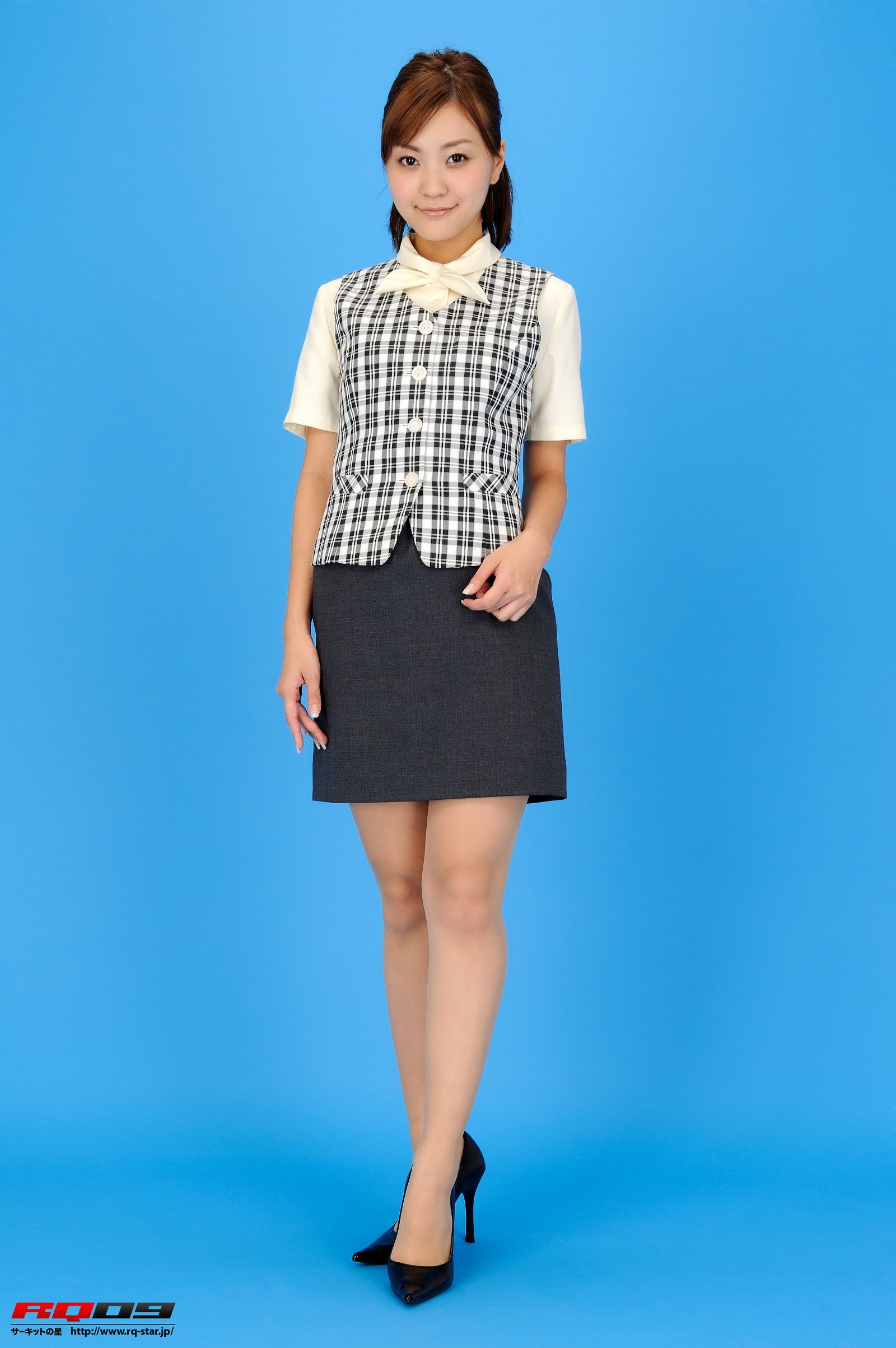 [RQ STAR美女] NO.0230 Mina Momohara 桃原美奈 Office Lady[61P] RQ STAR 第1张