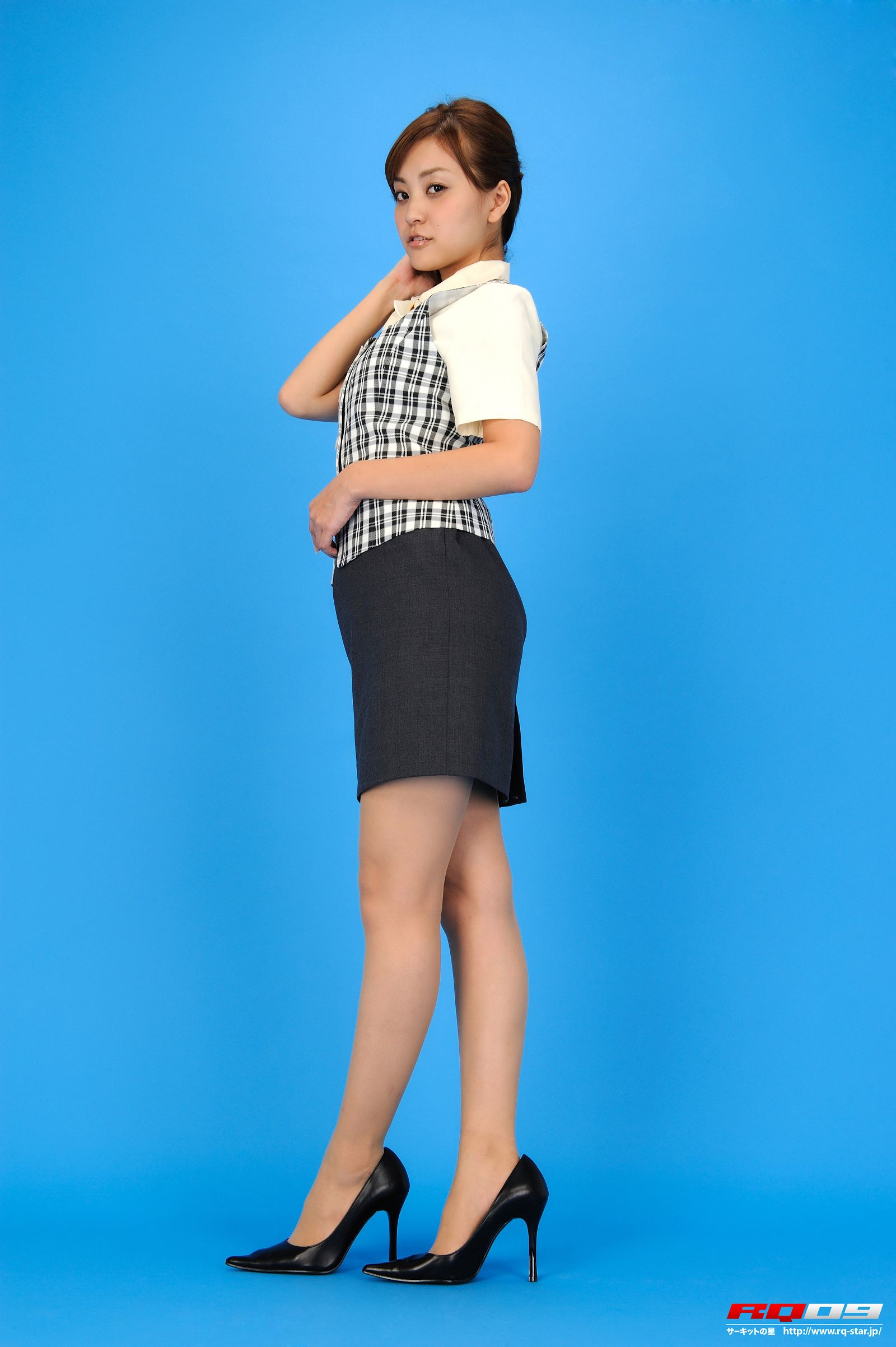 [RQ STAR美女] NO.0230 Mina Momohara 桃原美奈 Office Lady[61P] RQ STAR 第4张