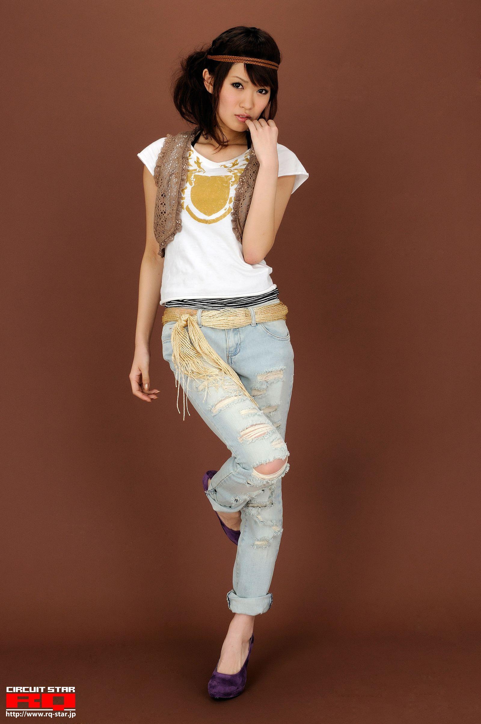 [RQ STAR美女] NO.0268 Megumi Fukuoka 福岡愛 Private Dress[54P] RQ STAR 第1张