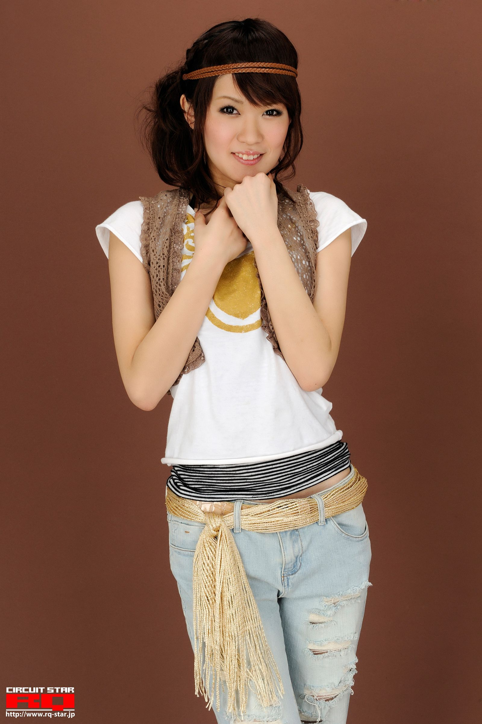 [RQ STAR美女] NO.0268 Megumi Fukuoka 福岡愛 Private Dress[54P] RQ STAR 第2张
