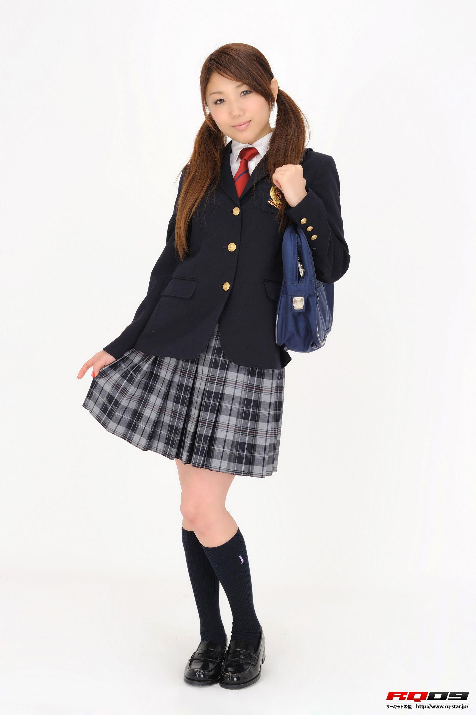 [RQ STAR美女] NO.0252 Arisa Kimura 木村亜梨沙 School Uniforms[115P] RQ STAR 第1张