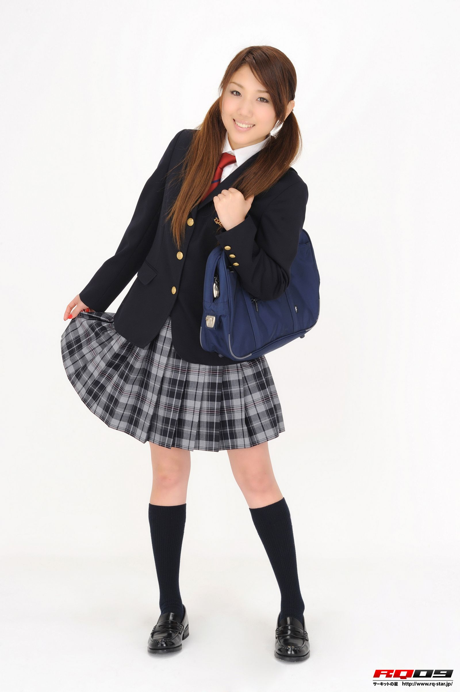 [RQ STAR美女] NO.0252 Arisa Kimura 木村亜梨沙 School Uniforms[115P] RQ STAR 第2张