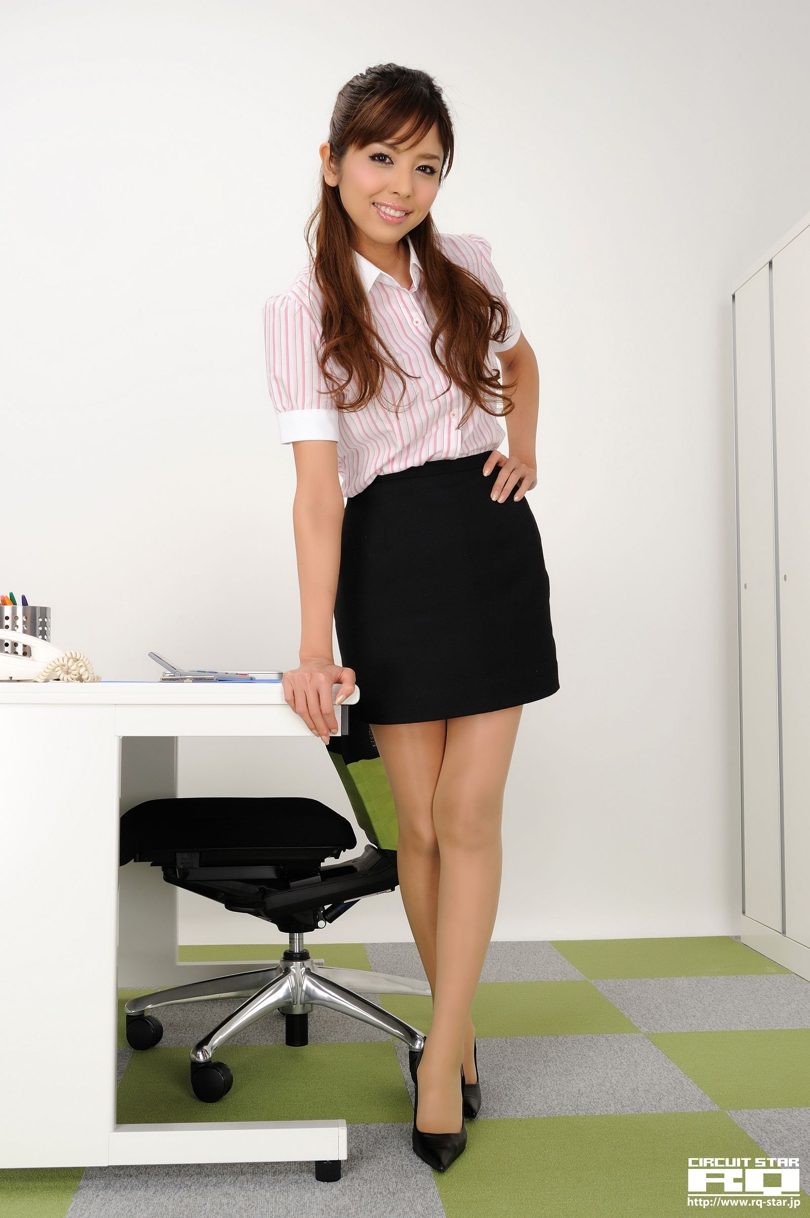 [RQ STAR美女] NO.0292 Yukari Amano 天野由加里 Office Lady[110P] RQ STAR 第1张