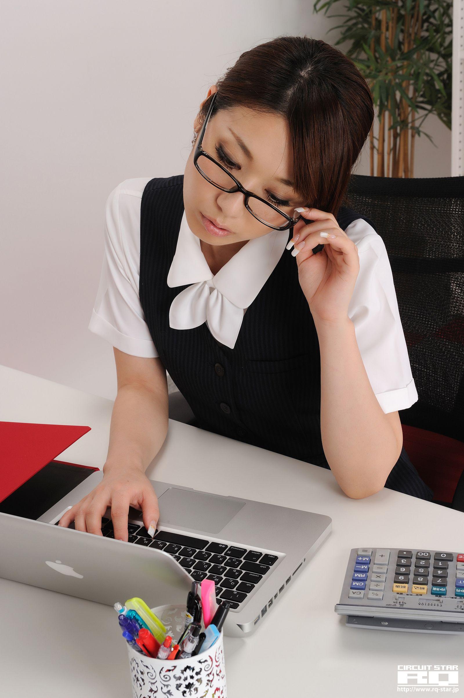 [RQ STAR美女] NO.0294 Emi Shimizu 清水恵美 Office Lady[160P] RQ STAR 第3张
