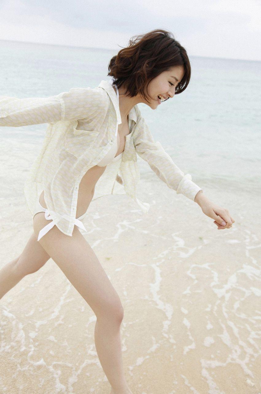 铃木ちなみ [WPB net] No.143 日本美女性感写真[46P] WPB套图 第2张